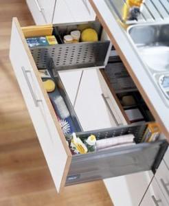 Around Sink Drawer