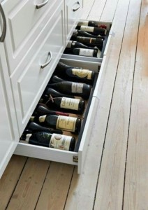 Kick Board Wine storage